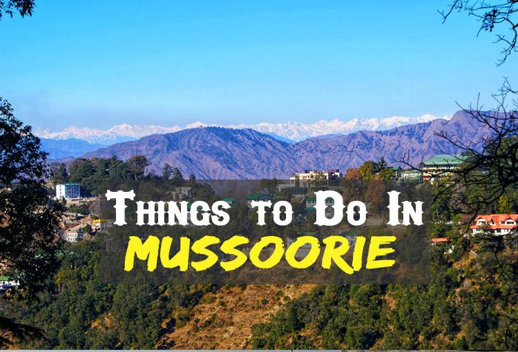 Mussoorie hills