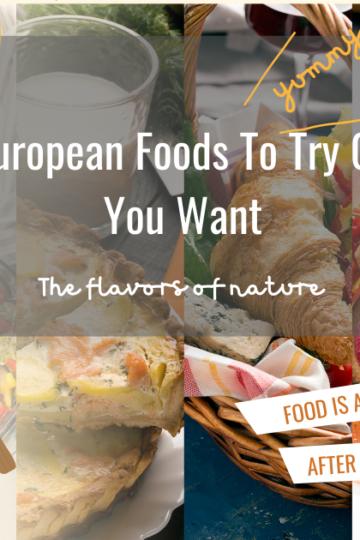 best European foods